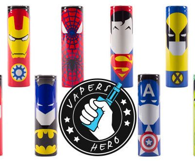 Super Hero 18650 Battery Wraps